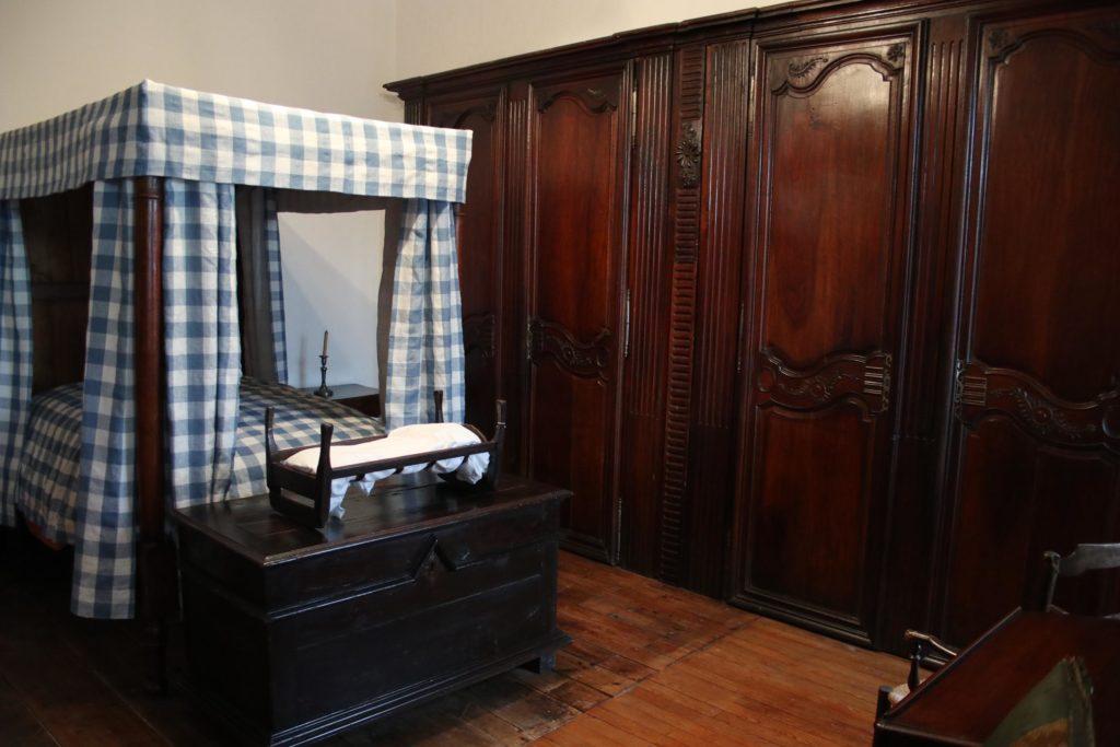 Chambre à coucher du XVIIIe s.