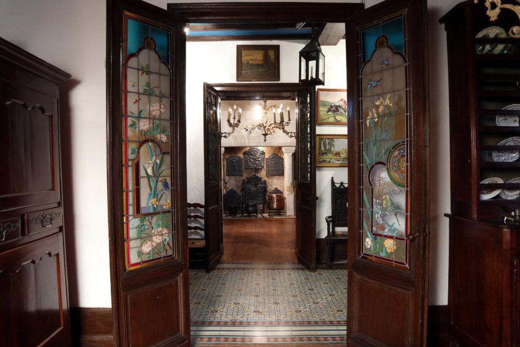 Intérieur de la Chartreuse Voulgre