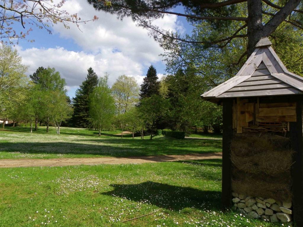 L'ouest du parc Voulgre