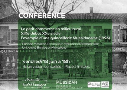 Thumbnail for the post titled: Conférence sur le petit commerce en milieu rural